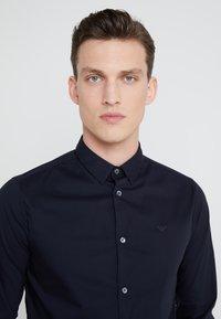 Emporio Armani - Formal shirt - dark blue - 3
