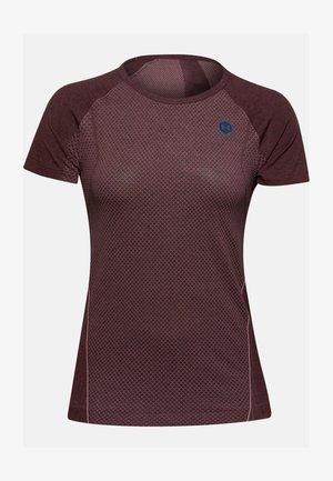 RUSH SEAMLESS SS - Sports shirt - hushed pink