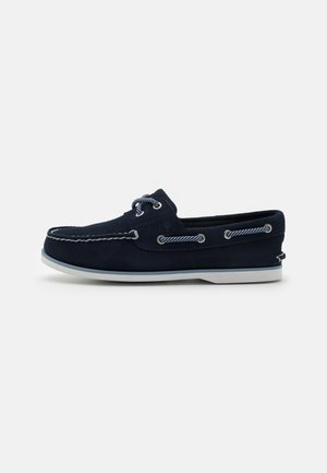 CLASSIC BOAT 2 EYE - Boat shoes - navy