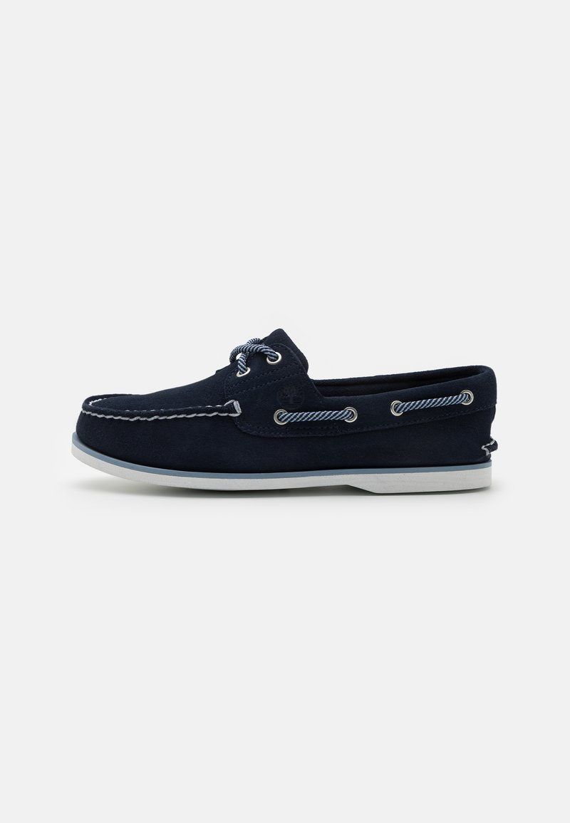 Timberland - CLASSIC BOAT 2 EYE - Boat shoes - navy