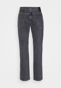 Levi's® Made & Crafted - LMC 502™ REGULAR TAPER - Jean droit - black water - 1
