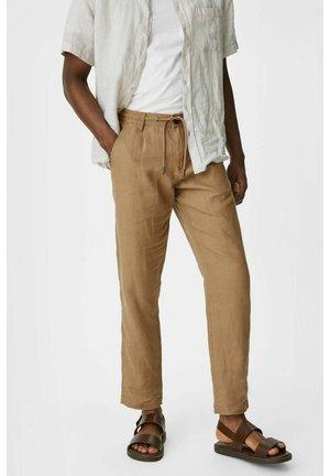 Spodnie materiałowe - light brown