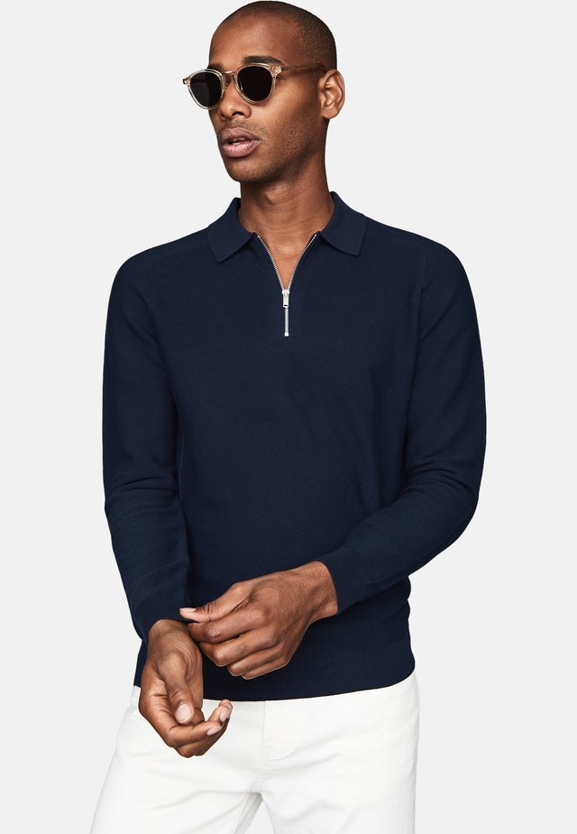 ROMAN - Polo shirt - navy blue
