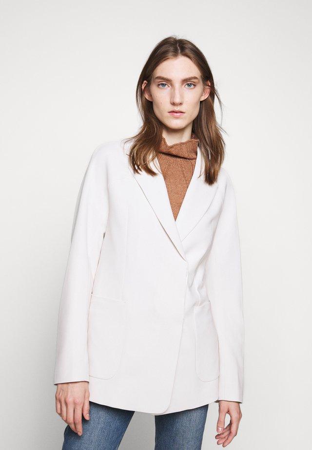 AIDA - Short coat - ivory