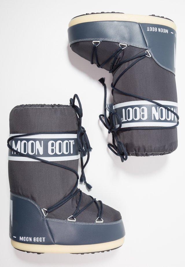 Winter boots - denim blue