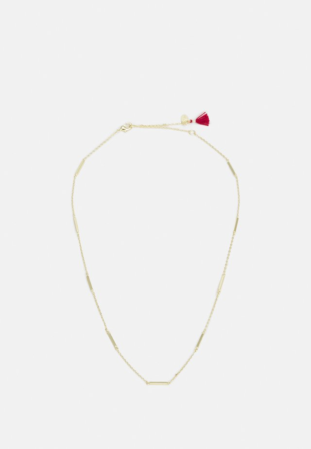 BAR MULTI NECKLACE - Kaulakoru - goldcolored