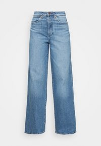 WORLD WIDE - Relaxed fit jeans - light blue denim
