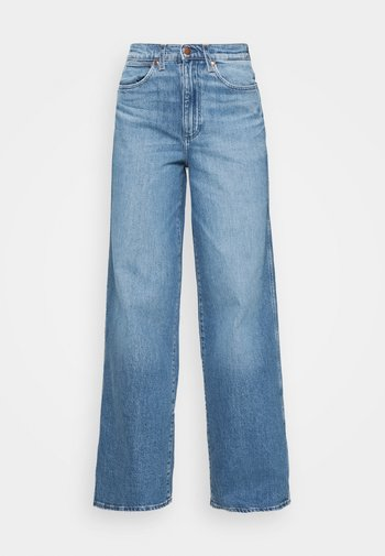 WORLD WIDE - Jeans baggy - light blue denim
