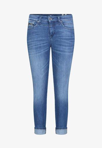 Slim fit jeans - authentic blue wash