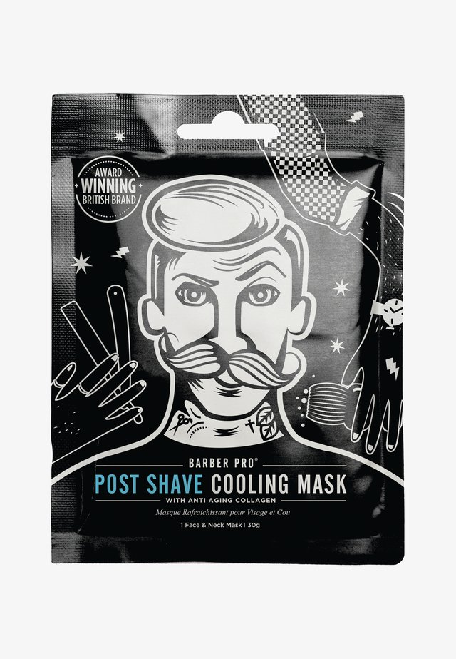 POST SHAVE COOLING MASK 30G - Ansiktsmask - -