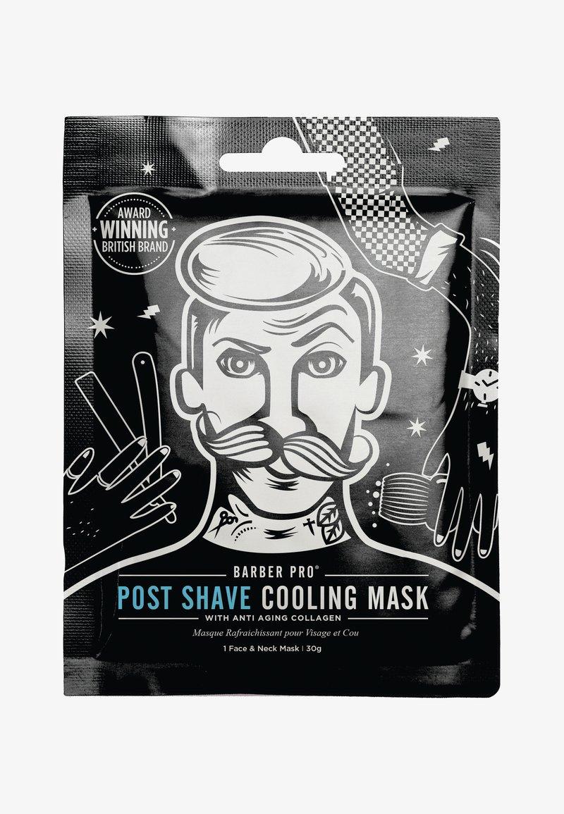 Barber Pro - POST SHAVE COOLING MASK 30G - Face mask - -
