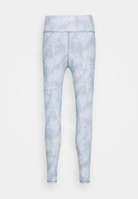 Cotton On Body - REVERSIBLE 7/8 - Leggings - sea spray/baltic blu - 7