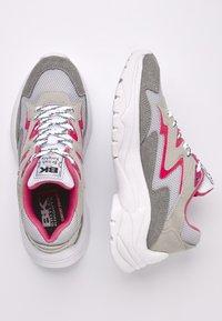British Knights - GALAXY - Sneakers basse - grey/lt grey/fuchsia - 2