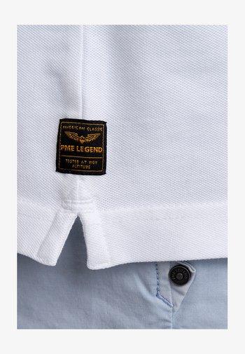 STRETCH - Polo shirt - bright white