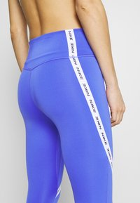Nike Performance - ONE CROP - Leggings - sapphire/white/black - 5