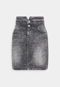ONLY - ONLVIENNA LIFE MINI SKIRT  - Denim skirt - grey denim - 0