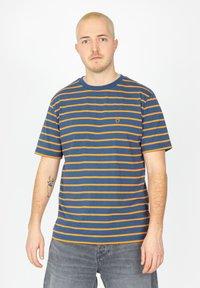 Brixton - Print T-shirt - joe blue - 0