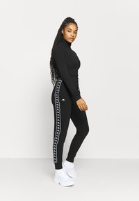 Kappa - HARRIET - Tracksuit bottoms - caviar - 1