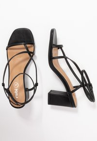 Rubi Shoes by Cotton On - HARPER STRAPPY HEEL - Sandals - black - 3