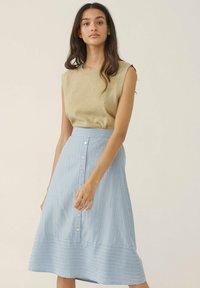Moss Copenhagen - A-line skirt - powder blue - 0