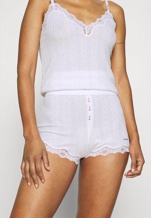 SHORT - Pyjama bottoms - white