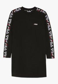 Fila - BROOKE DRESS - Jerseyklänning - black - 0