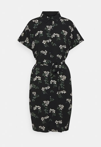 VMSAGA DRESS - Vestido camisero - black