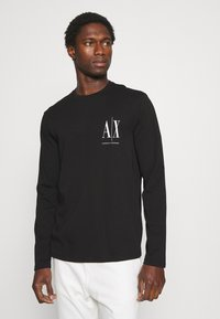 Armani Exchange - Long sleeved top - black - 0