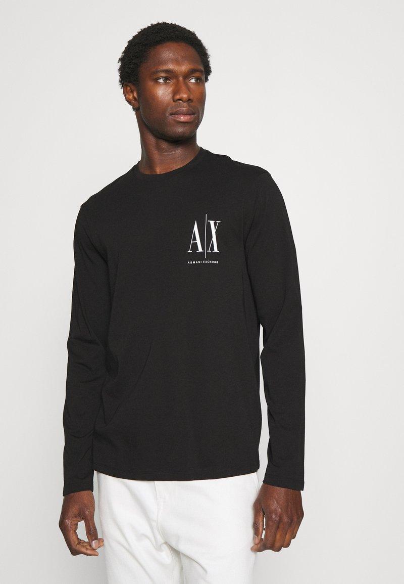 Armani Exchange - Long sleeved top - black