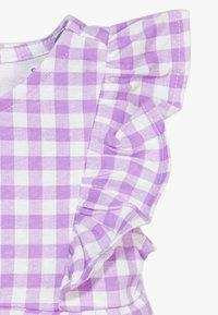 Carter's - DRESS GINGHAM - Vestido de cóctel - purple - 4