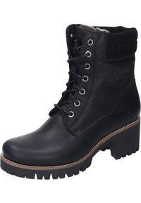 Panama Jack - Lace-up ankle boots - black - 1