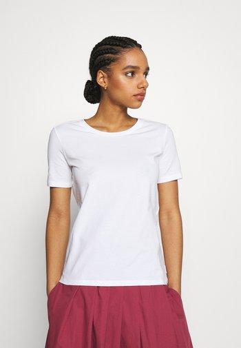 VAGARE - T-shirt basique - weiss