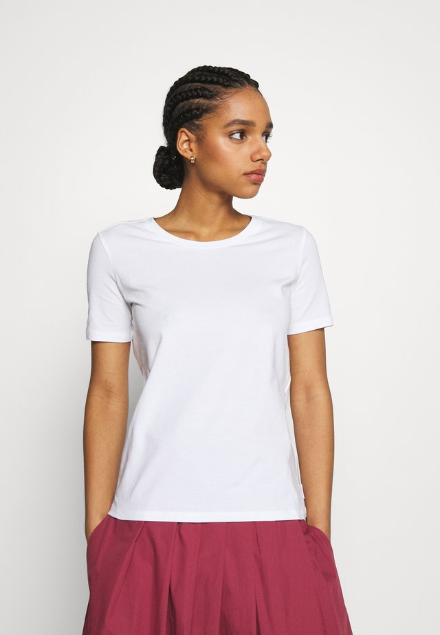 VAGARE - T-shirt basic - weiss