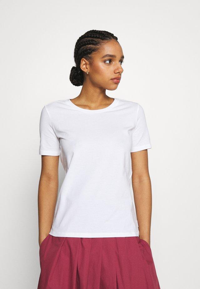 VAGARE - T-shirt basic - weiss