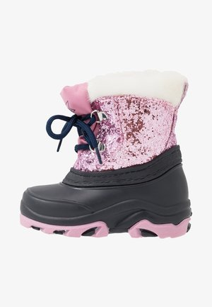 Snowboots  - dark blue/rose