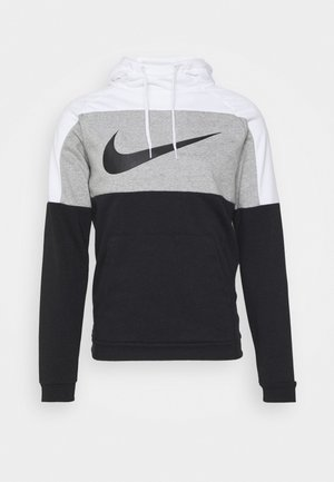 DRY  - Hoodie - white/dark grey heather/black