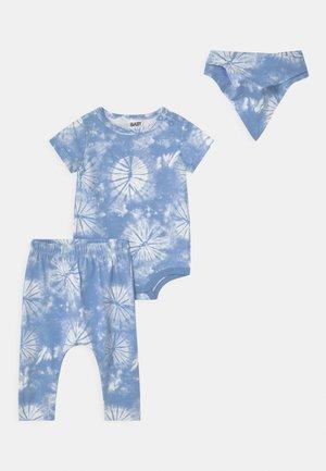 SET - Print T-shirt - dusk blue