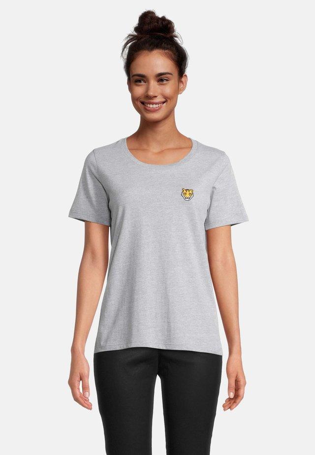 T-shirt print - grau melange