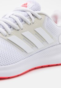 adidas Performance - RUNFALCON - Neutral running shoes - footwear white/signal pink - 5