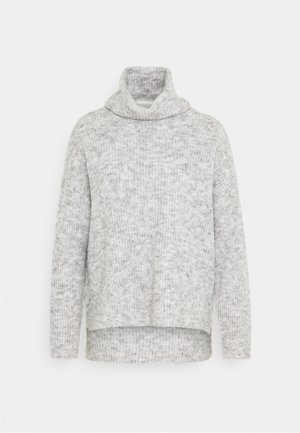 VMDAISY COWLNECK - Strikkegenser - light grey melange