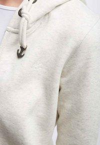 DreiMaster - Zip-up hoodie - white melange - 3