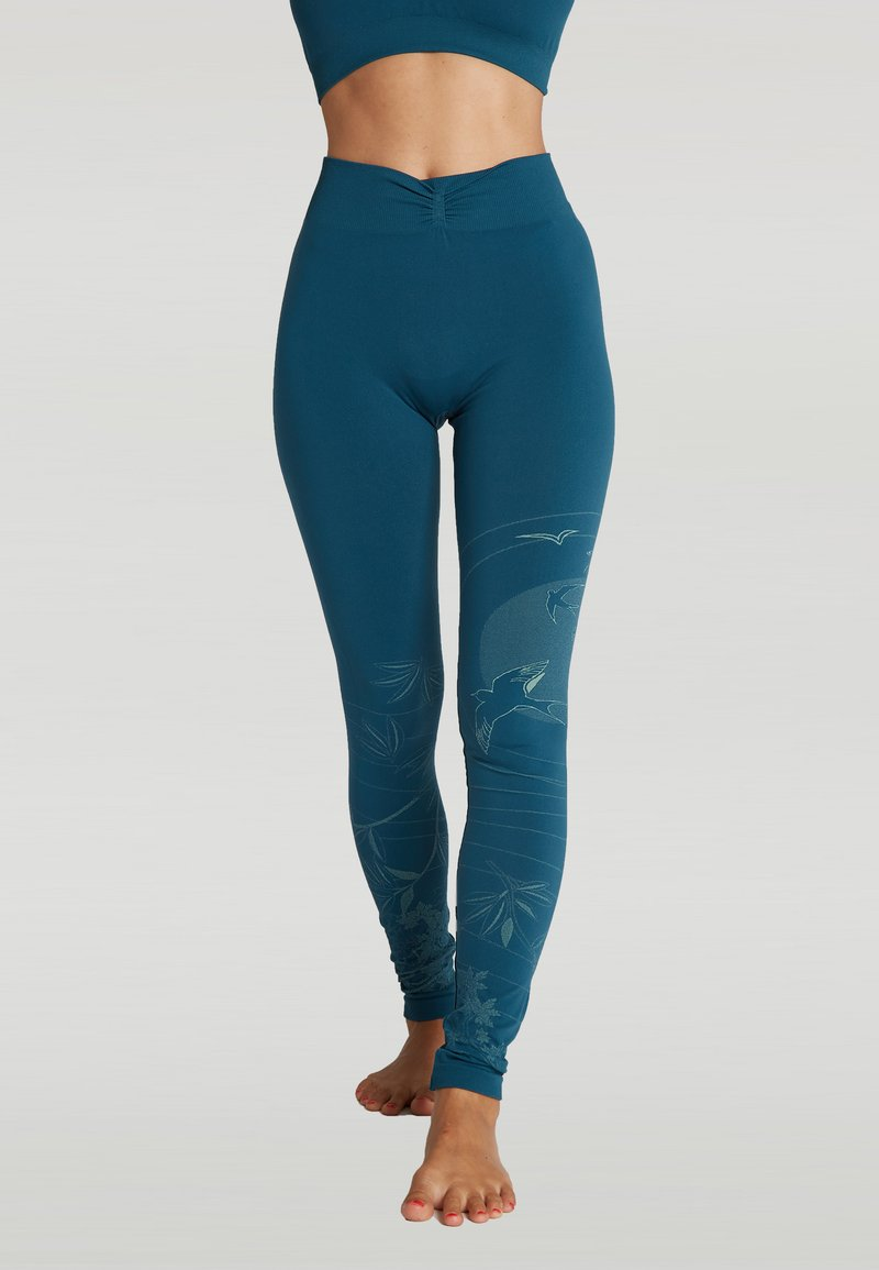 Yogasearcher - SUNSET - Legging - blue