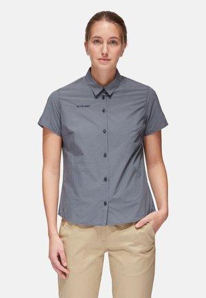 AADA - Button-down blouse - marine-granit