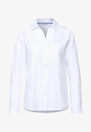 BASIC - Camicia - weiß