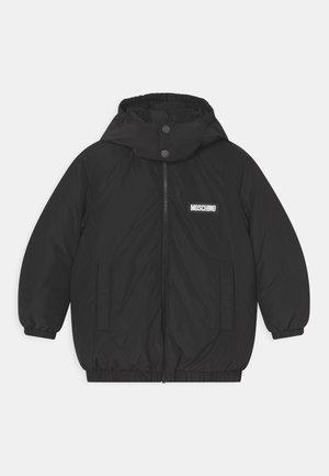 PADDED UNISEX - Down jacket - black