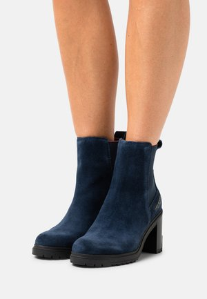 OUTDOOR BOOT - High heeled ankle boots - desert sky