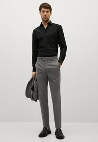 Mango - EMERITOL - Camicia elegante - schwarz - 1