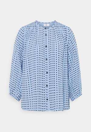 DOTTED MOSS - Blouse - blue