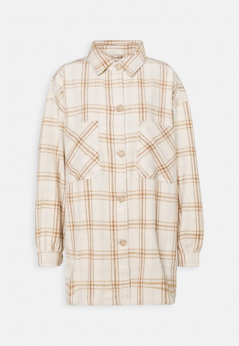 Cotton On - FULL SLEEVE WASHED SHACKET - Lett jakke - natural