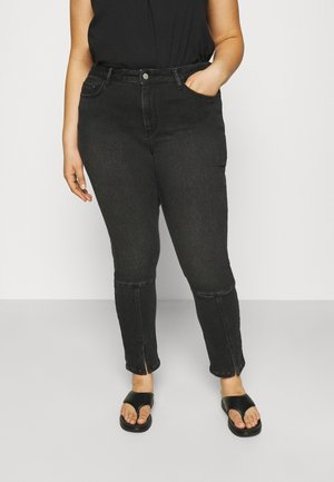 CANNIE - Jeans Skinny - black washed denim